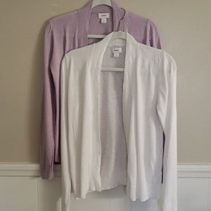Set of 2 old navy cardigans size s
